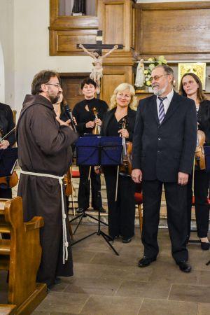 Вітання Георгія Куркова настоятелем парафії. Свято святого Франциска