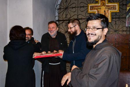 Вітання братів капуцинів. Свято святого Франциска